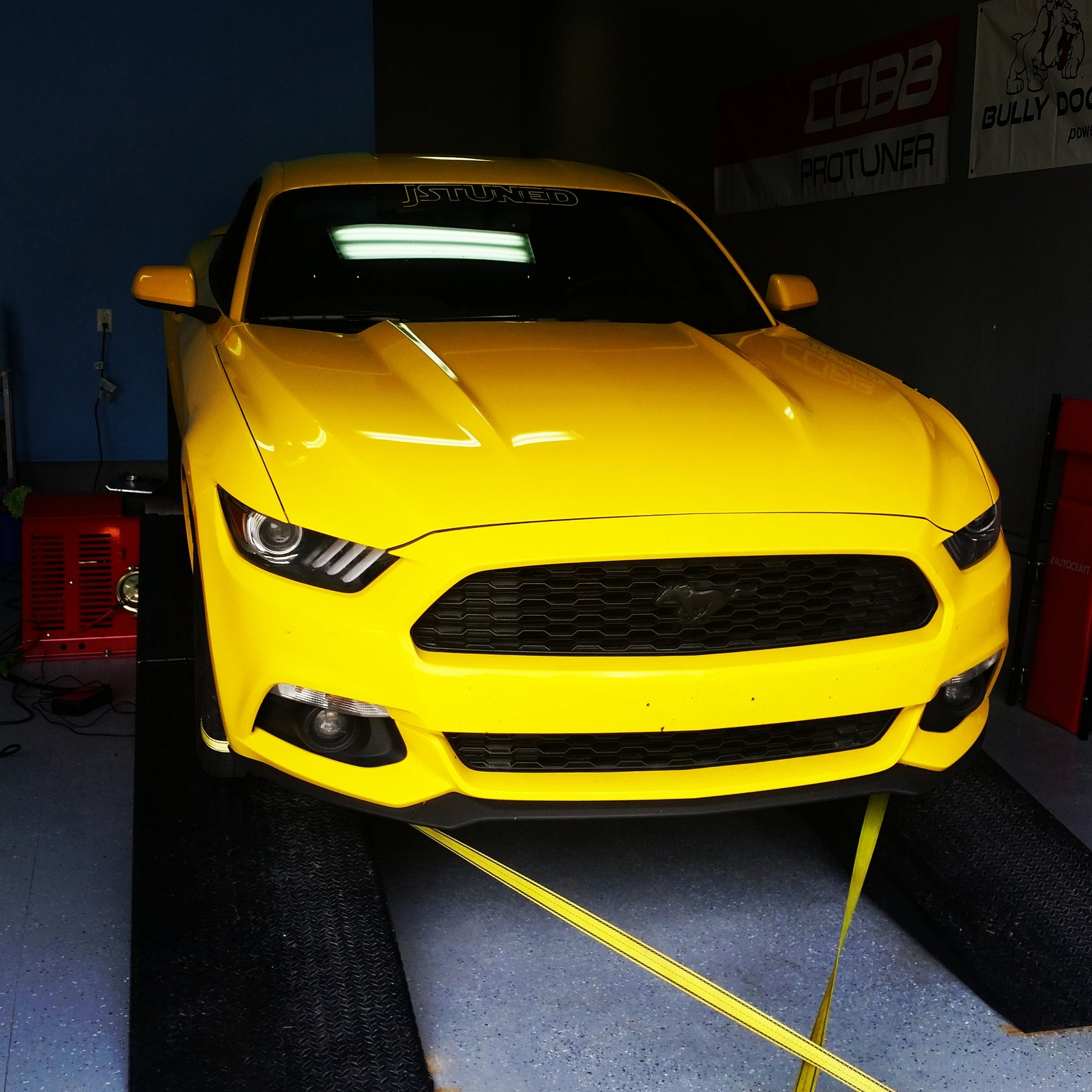Stage 1 Ecoboost Mustang with WGA