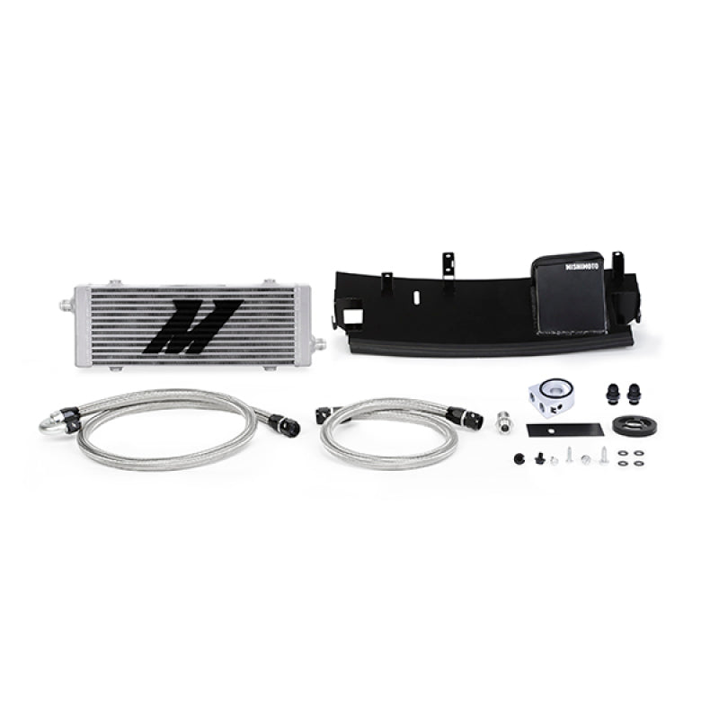 Mishimoto 2016+ Ford Focus RS Oil Cooler Kit - Silver