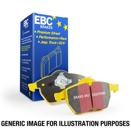 EBC 2019+ Hyundai Veloster N (2nd Gen) 2.0L Turbo Yellowstuff Rear Brake Pads