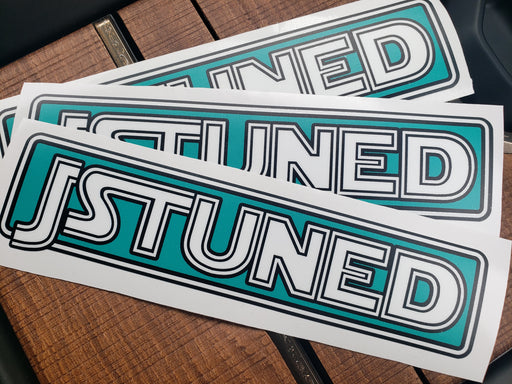 **JSTUNED Colorblock Decal - New for 2020!