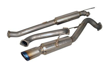 Injen Super SES Catback Exhaust System (Burnt Tips) Fiesta ST