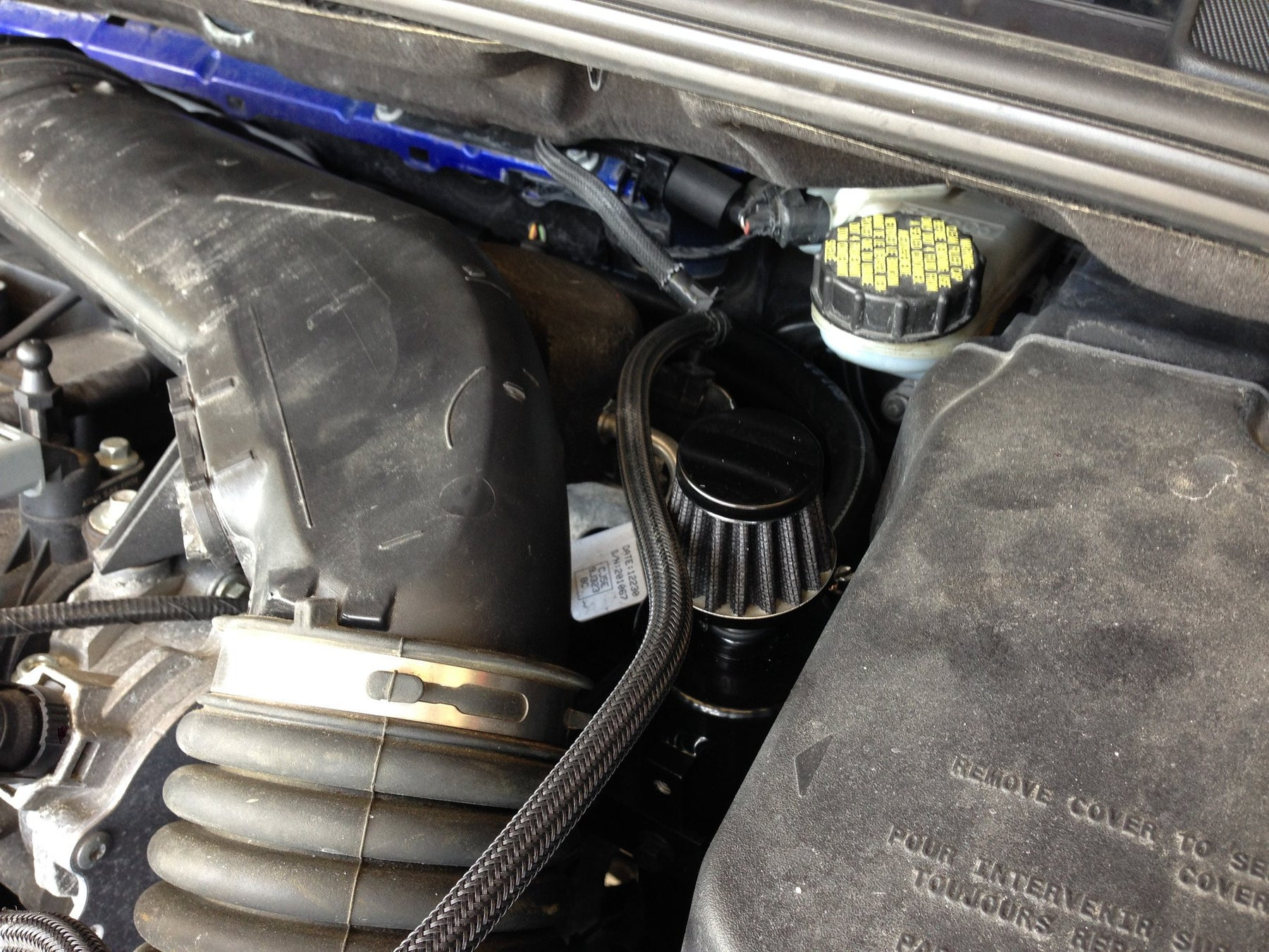 Damond Motorsports Focus ST Oil Catch Can kit Stage 2