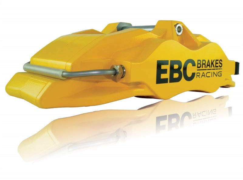 EBC Racing 2014+ Audi S1 (8X) Front Left Apollo-4 Yellow Caliper