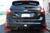 Rally Armor 13+ Ford Focus ST Red Mud Flap w/ White Logo