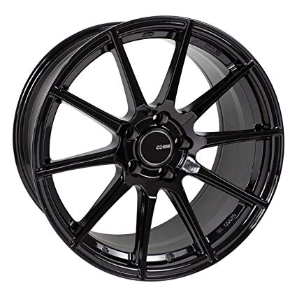 Enkei TS10 17x9 5x114.3 45mm Offset 72.6mm Bore Black Wheel