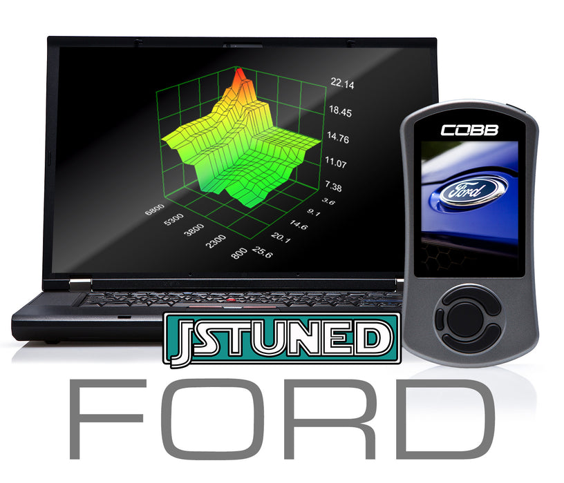 *Ford Focus ST/Focus RS/Fiesta ST/EB Mustang/Fusion Custom E-Tune for Ethanol Mix Fuel Only
