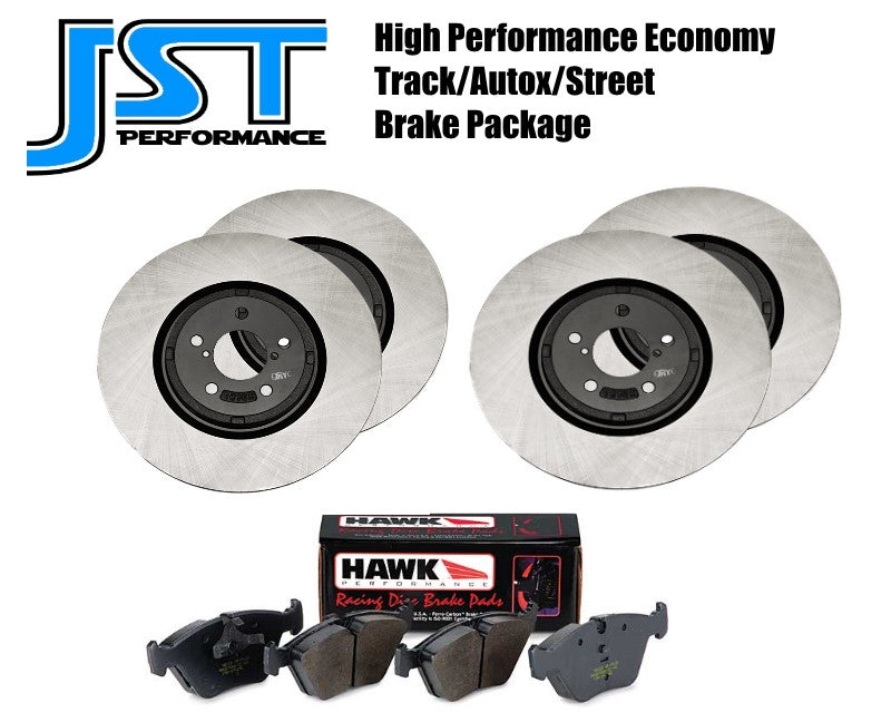 *Economy Street/Track/Autocross Brake Package for 13+ Focus ST