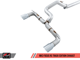 AWE Tuning Ford Focus RS Track Edition Cat-back Exhaust