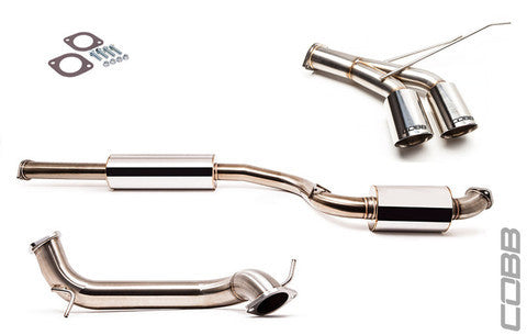 "Cobb Ford Focus ST SS 3"" Catback Exhaust"