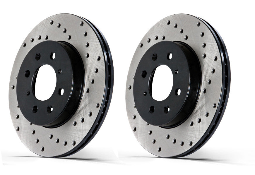Stoptech Drilled Rear Rotors