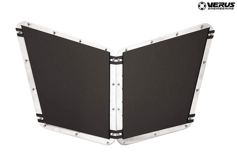 Verus Engineering Hood Louver Rain Guard Kit - Fiesta St