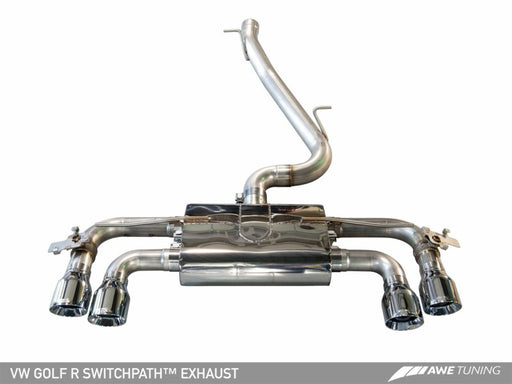 AWE Tuning Mk7 Golf R SwitchPath Exhaust
