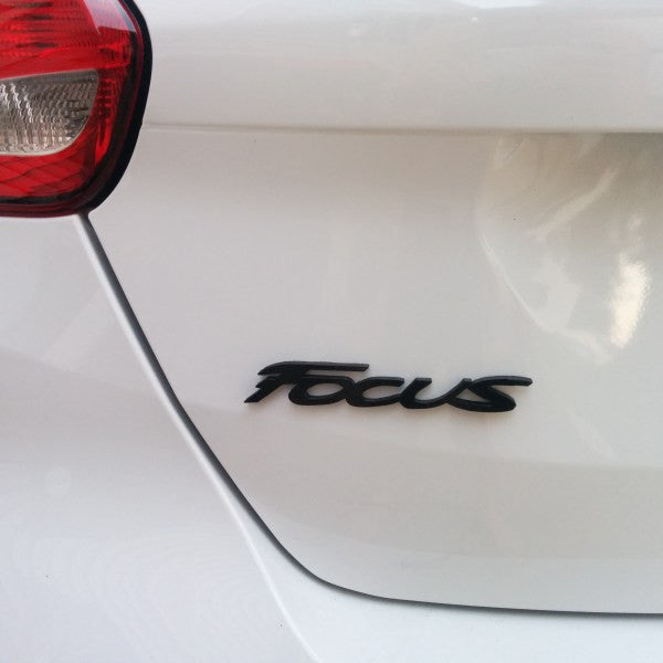 "Velossa Tech 2013-2017 Focus ST – Rear – ""Focus"" Emblem"