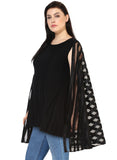Qurvii Designer Cape Jersey Tunic For Women