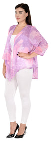 QURVII Watercolor Front drape Shrug