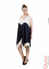 Asymmetrical Jersey Dress