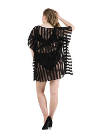 sheer Beach Kaftan coverup