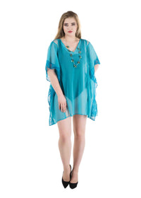 Beach kaftan coverup