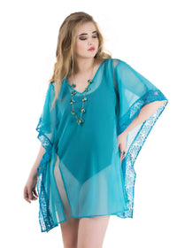 Qurvii Beach kaftan Coverup