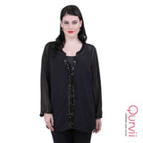 Georgette sequence shirt