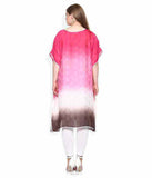 Qurvii Ombre kaftan dress