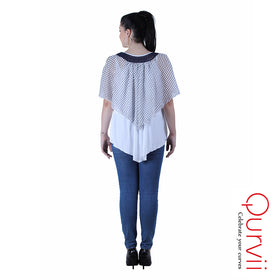 mix media Layered top