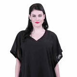 Qurvii Sequins Embellished Kaftan Tops/Tunics