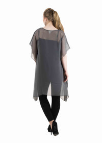 Embelished neck Tops/Tunics
