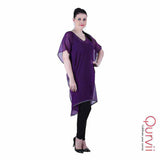 Embelished Neck and Hem Kaftan