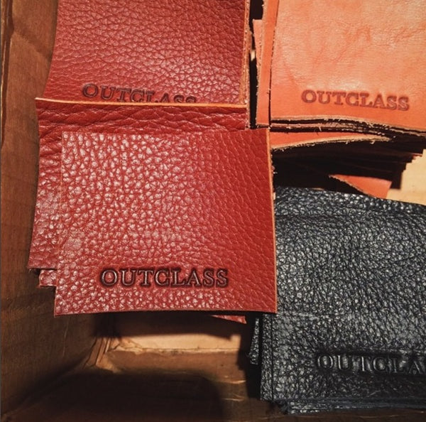 Outclass Attire Leather Patches