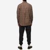House of St. Clair - 1905 Shirt - Coffee Windowpane Plaid