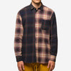 House of St. Clair - 1905 Shirt - Navy/Purple Plaid Mix
