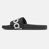 200 Sandal Slides - Black/White