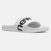 200 Sandal Slides - White/Black