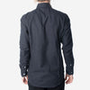 18 Waits - The Woodsman Pocket Shirt - Black Melange Flannel