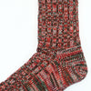 Anonymous Ism - 2 Line Mix Crew Socks - Red