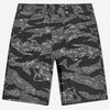 4-Pocket Fatigue Shorts - Black Tigerstripe Ripstop