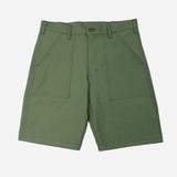 Stan Ray - 4-Pocket Fatigue Shorts - Olive Sateen