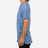 18 Waits - The Signature T-shirt - Blue Sky Slub