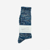 5 Colour Mix Crew Socks - Dark Navy