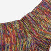 5 Colour Mix Crew Socks - Lavender