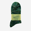 Anonymous Ism - 5 Colour Mix Quarter Socks - Green/Blue