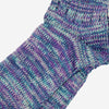 Anonymous Ism - 5 Colour Mix Quarter Socks - Indigo/Purple