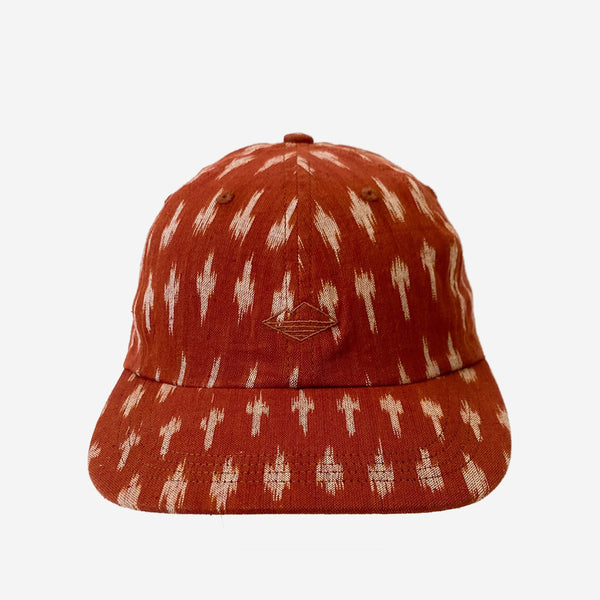 6-Panel Field Cap - Clay Ikat