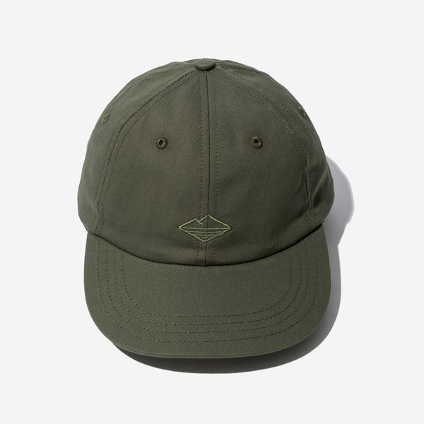 6-Panel Field Cap - Olive Twill