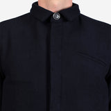 18 Waits - The Classic Trench - Midnight Navy Wool