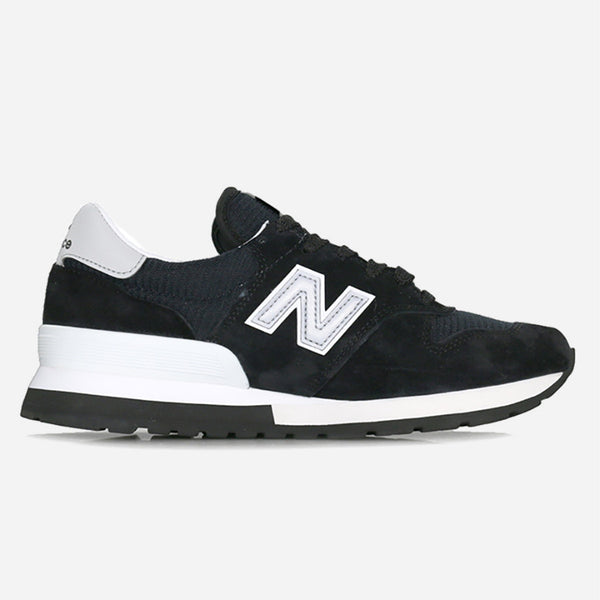 New Balance - M995CHB Made in the USA - Black/Silver