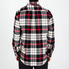 Portuguese Flannel - Abril Flannel Shirt - White/Black/Red