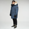 Alaska Long Parka - Navy