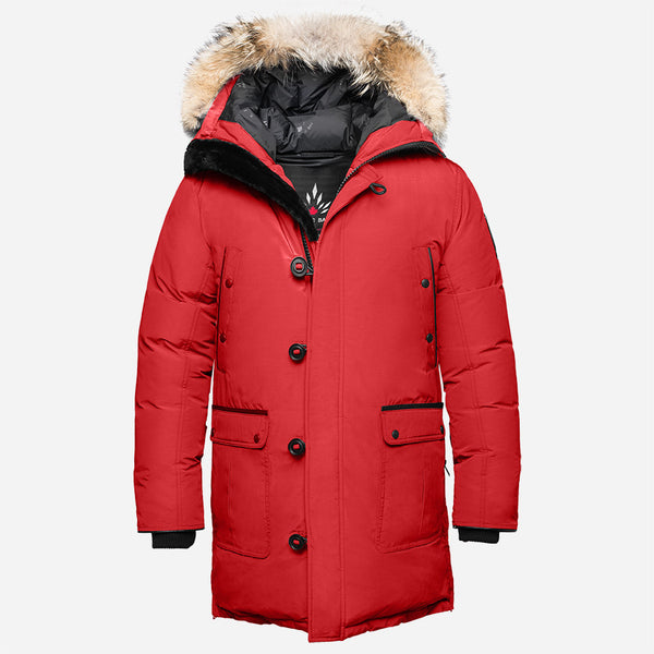 Arctic Bay - Alaska Parka - Red